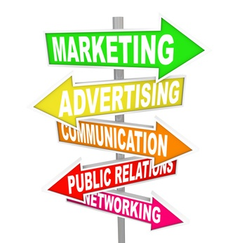 Marketing Advertising Communication on Arrow Signs